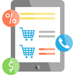 B2B E-Commerce mobile device