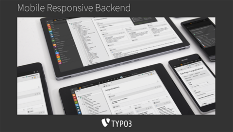 TYPO3 8.7 LTS Responsives Backend